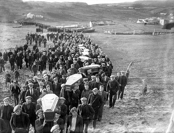 Arranmore Disaster 1935. Image credit - Donegal Genealogy Resources